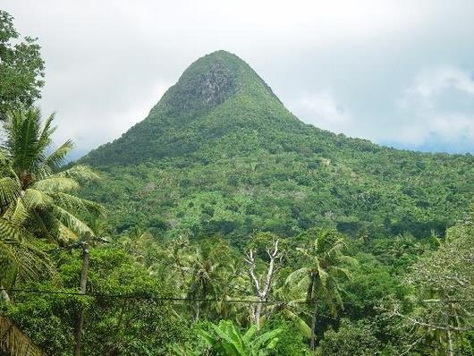 Mayotte mountain