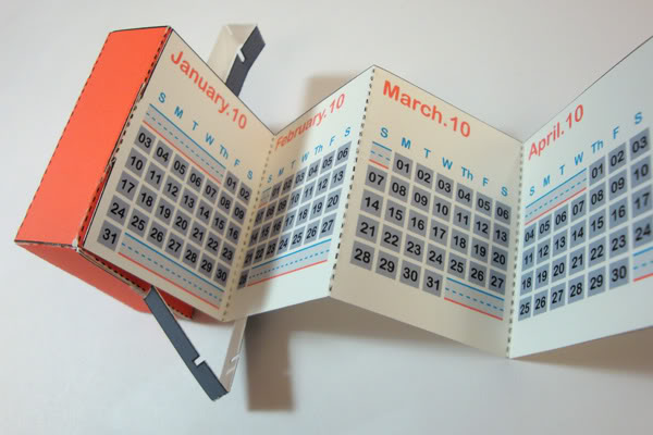accordian 1 Creative Calendar Designs image gallery