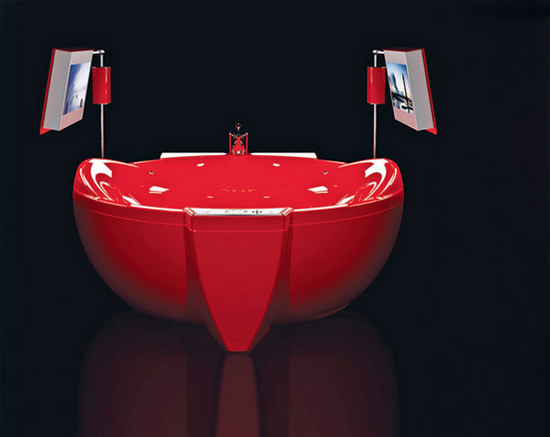 red diamond bathtub