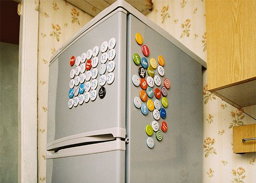 refrigerator magnets 1 Creative Calendar Designs image gallery