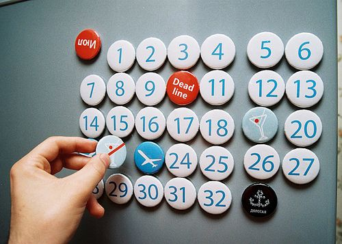 refrigerator magnets Creative Calendar Designs image gallery