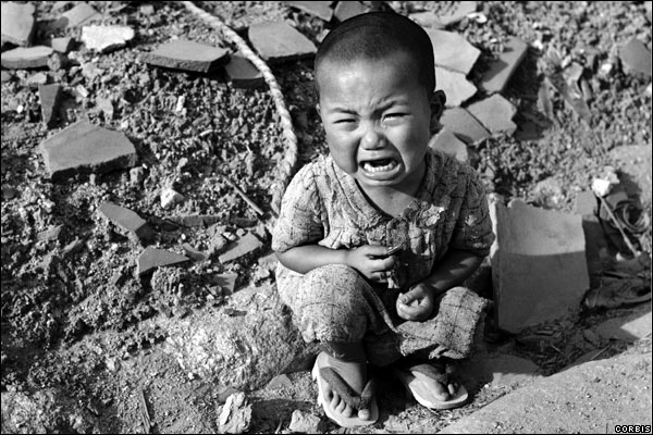 hiroshima child crying