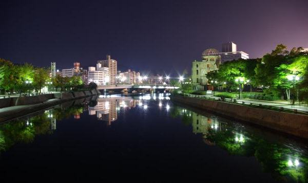 hiroshima calm night