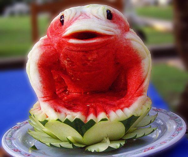 Watermelon art a delight for summer pickchur