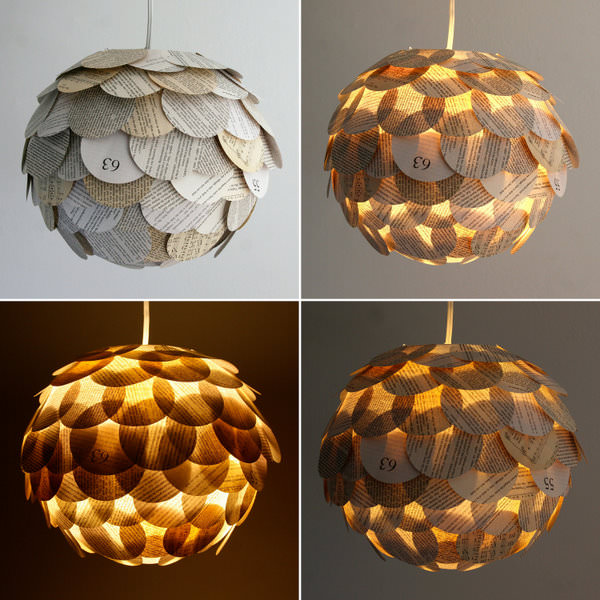 Marvelous Lamps Made Out Of Books That You Don T Read Anymore PickChur