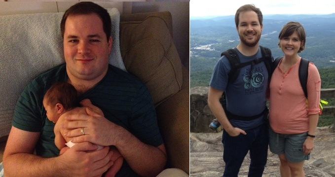 Ben Mordecai, lost 50lbs in just two months