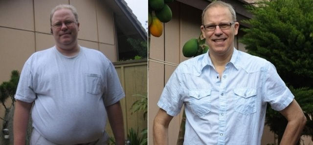 Eric Lauritzen, lost 130lbs in a year