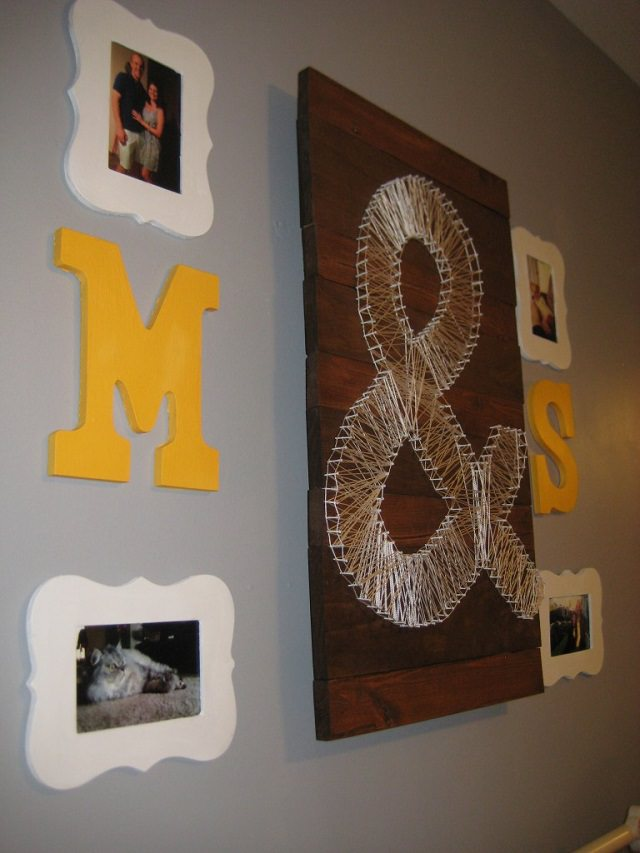 15 beautiful examples of string art - using thread and nails
