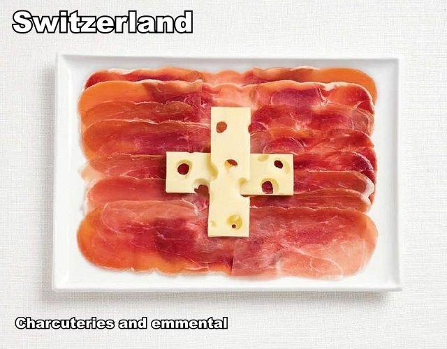switzerland-flag-made-from-food