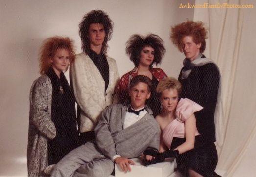 21 awkward family photos from the 80s pickchur