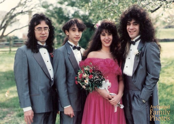 When weddings truly rocked.