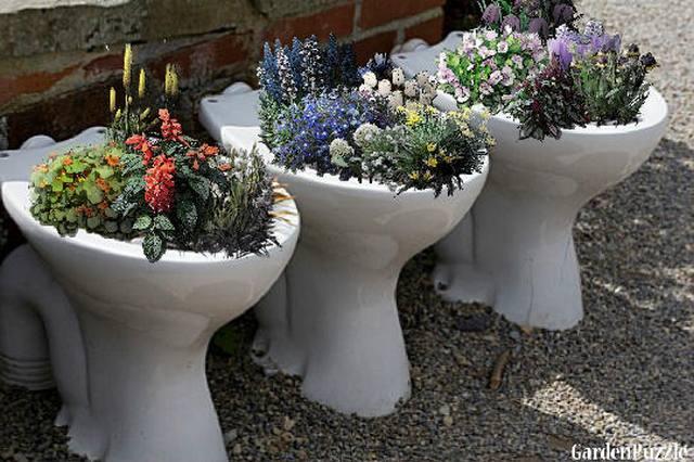 Plant Pots Diy Recycle