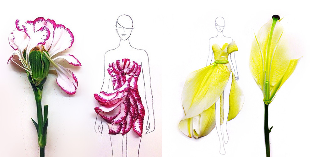 Clever_Fashion_Illustrations_With_Real_Flower_Petals
