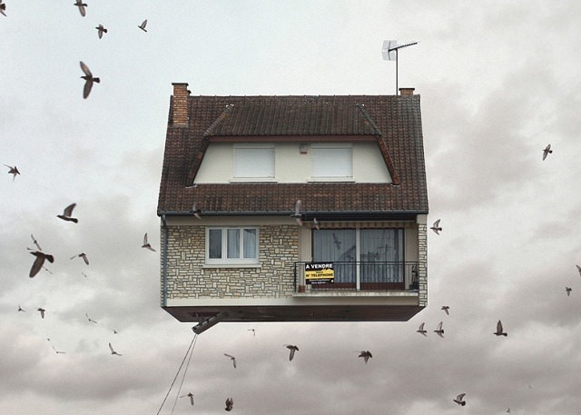 Flying-Houses-by-Laurent-Chéhère 2