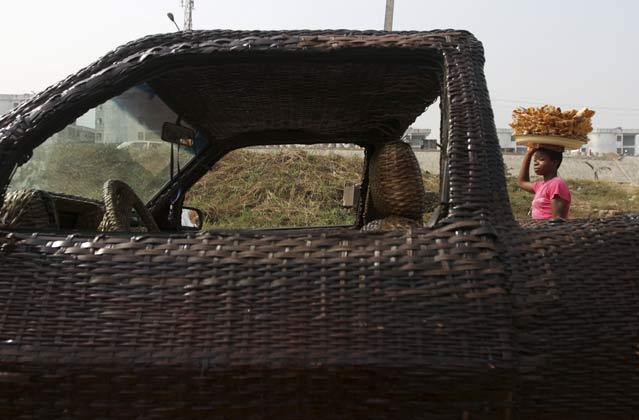 hand-woven Car (6)