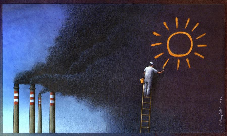 Satrical Art  by Paul Kuczynski 11