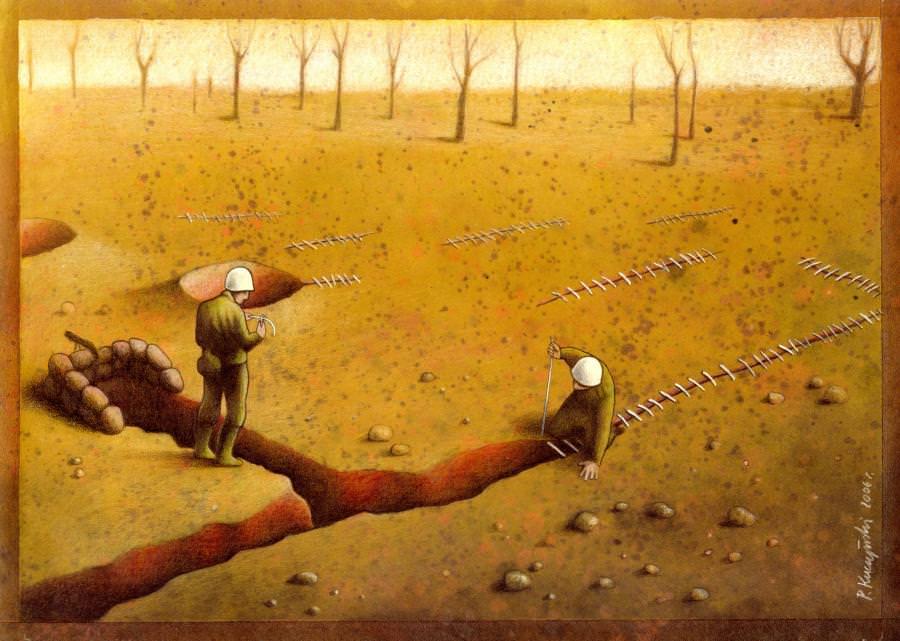 Satrical Art  by Paul Kuczynski 12
