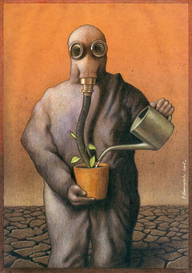 Satrical Art  by Paul Kuczynski 2