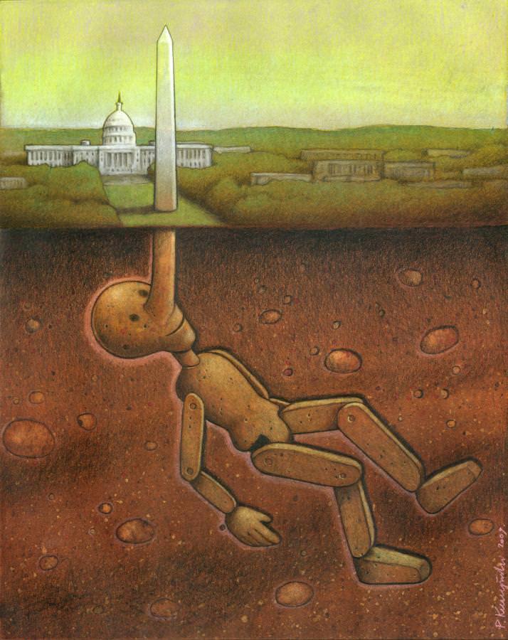 Satrical Art  by Paul Kuczynski 7