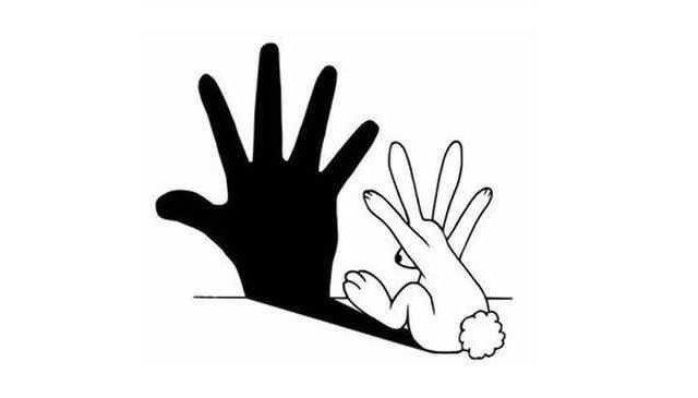 rabbit mking shadow hand