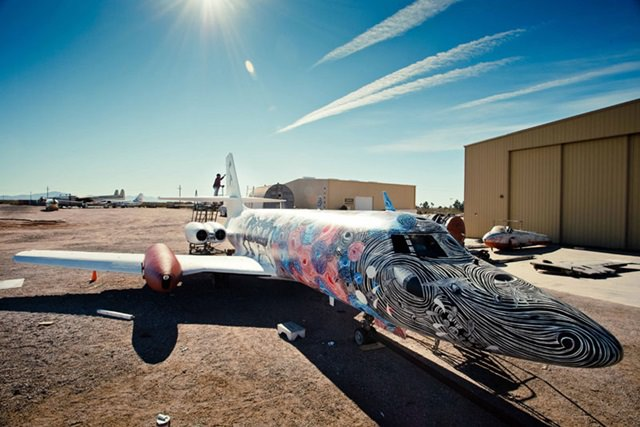 Artists give new life to abondoned planes (11)