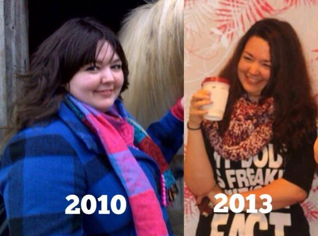 Katie Lowe, lost 140lbs in 2 years