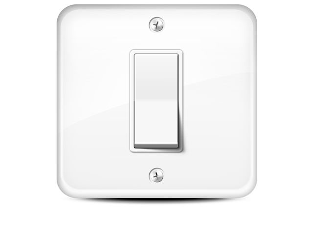 There are 217 bacteria per square inch on a normal house hold switch
