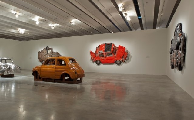 Ron Arad / Holon Museum / In Reverse / Pressed Flowers